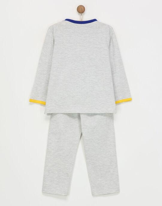 Pyjama gris chiné REBOTAGE / 19E5PG75PYJ943