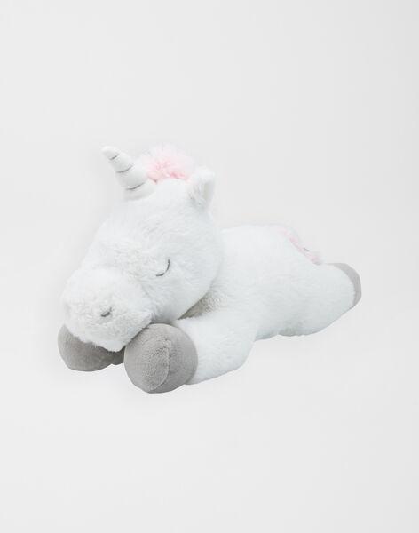 Licorne blanche arc-en-ciel 35 cm  unicorn SMALL / 20J7GF32PE2099