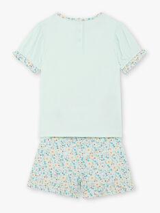 Pyjama vert d'eau ZEPIETTE / 21E5PF22PYJ614
