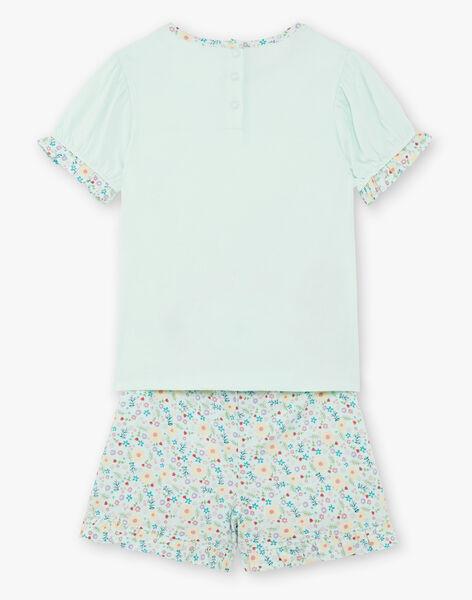 Pyjama Turquoise ZEPIETTE / 21E5PF22PYJ614
