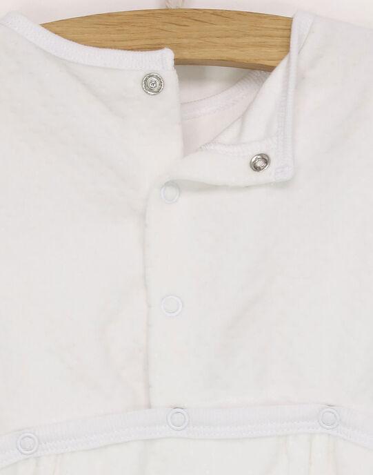Grenouillère blanc RYANAKIN / 19E0NM11GRE001