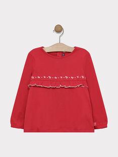 Tee-Shirt Manches Longues rose fille SABOBETTE 2 / 19H2PF93TMLD301