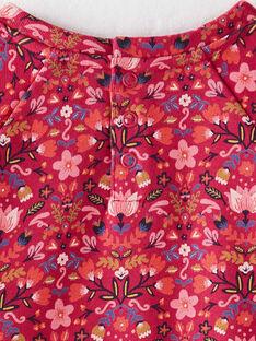 Sweat shirt imprimé rose  VLOKETTE / 20H2PFU1SWED307
