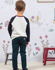 Pantalon vert enfant garçon BETROFAGE / 21H3PG93PAN608