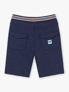 Bermuda bleu marine enfant garçon ZOCLAGE / 21E3PGU2BER715