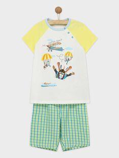 Pyjama vert REZERAGE / 19E5PGJ2PYJ001
