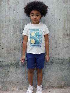 Bermuda bleu marine enfant garçon ZEMOLAGE / 21E3PGO3BER216