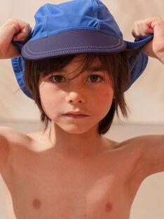 Casquette de bain bleue animation requin enfant garçon ZYBOBAGE / 21E4PGR1CHAC221