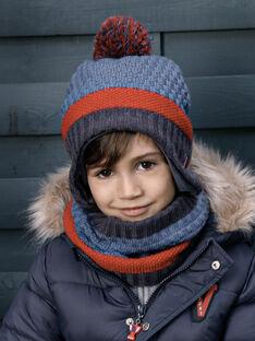 Bonnet en tricot fantaisie petit enfant garçon VUBONAGE / 20H4PGE1BONC203