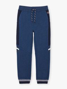 Pantalon de jogging bleu enfant garçon BANUAGE1 / 21H3PG34JGBC212