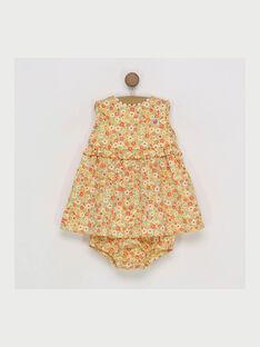 Robe chasuble jaune RAODILE / 19E1BFH2CHS010