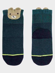 Chaussettes vert anglais bébé garçon SAMARTY / 19H4BGC1SOQG625