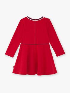 Robe rouge maille milano à détail noeud ZLOMETTE4 / 21E2PFK5ROB719