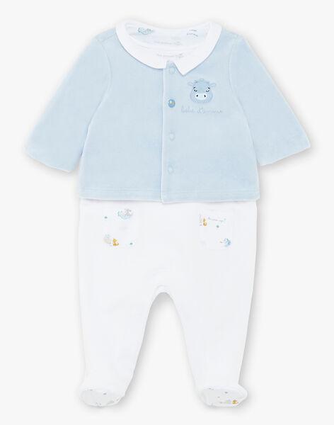 Ensemble dors bien et veste en velours bébé garçon ZOGABIN / 21E0NGG2ENS020
