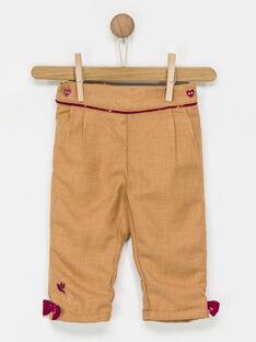 Pantalon beige PANGELA / 18H1BFK2PAN804