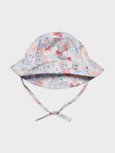 Chapeau blanc à motifs RAKANOEUD / 19E4BFF1CHA001