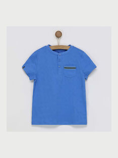 Tee shirt manches courtes bleu  RATICAGE3 / 19E3PGL3TMC201