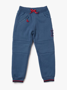Pantalon bleu en polaire VINUAGE / 20H3PGW2PANC203