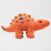 Dinosaure stegosaurus orange et bleu 60 cm