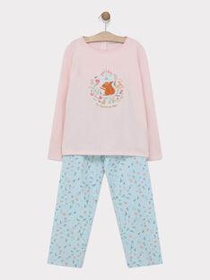 Pyjama Rose SYRANETTE / 19H5PF54PYJ303