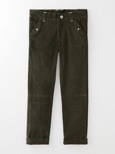 Pantalon kaki en velours côtelé  VUPANTAGE / 20H3PGS2PAN604