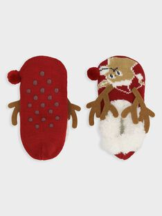 Chaussons Rouge SOFLAGE / 19H4PGQ1CLU511