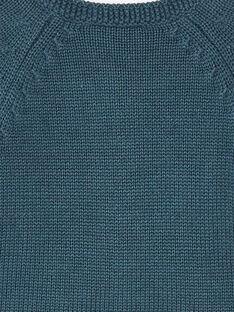 Cardigan marine en tricot fantaisie ZADORICE / 21E1BF91CARJ912
