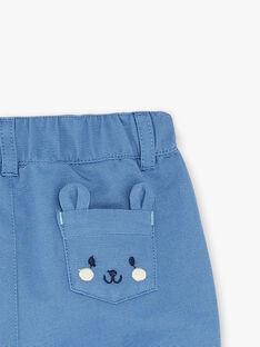 Pantalon bleu retroussable  ZAKAMIL / 21E1BGJ1PANC206