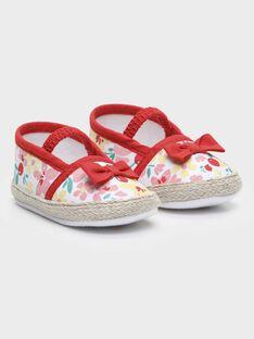 Chaussures imprimées bébé fille  TAMOUR / 20E4BFH1CHO001