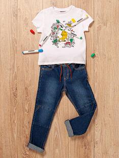 Œuf de Pâques bleu marine et T-shirt à colorier enfant garçon TULIONAGE / 20E3PGU1TCT000