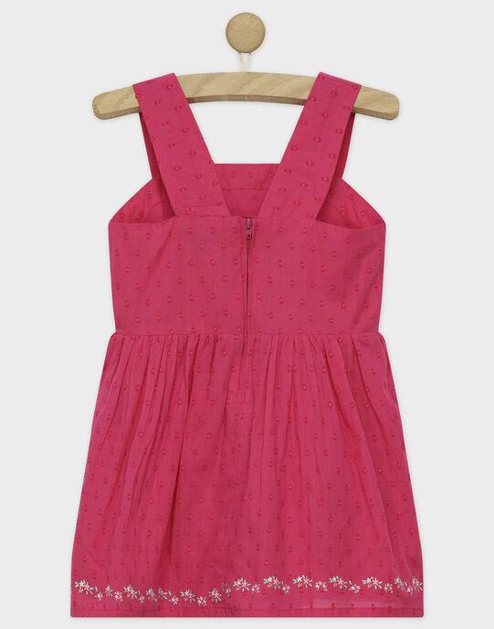 Robe chasuble rose RUITAETTE / 19E2PFP1CHS309