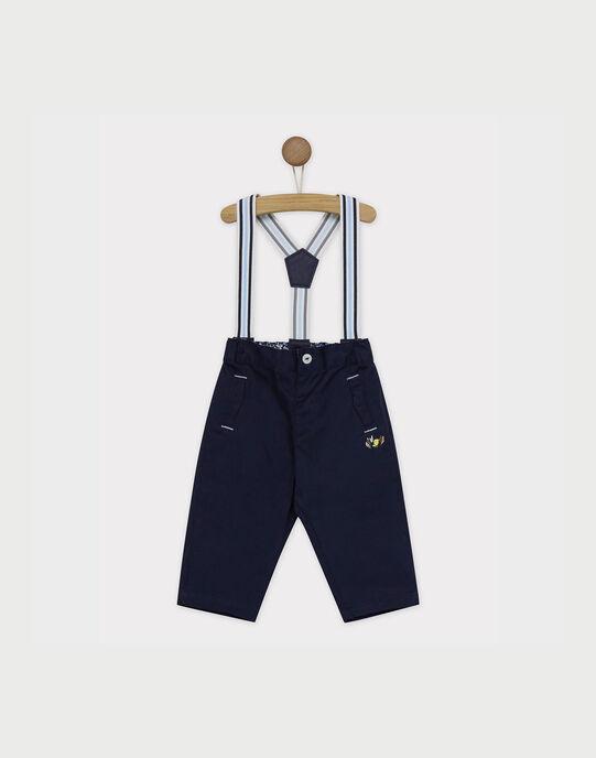 Pantalon bleu marine RALEOPAUL / 19E1BGF1PAN070
