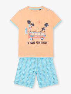 Pyjama Saumon ZECOURSAGE / 21E5PG21PYJ401