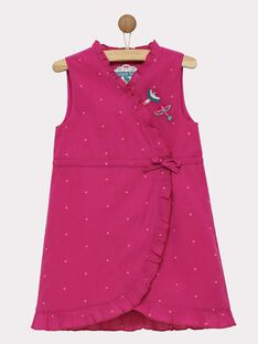 Robe chasuble rose ROYMOETTE / 19E2PFQ1CHSD302