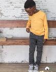 Jean denim noir uni enfant garçon BUXTIAGE1 / 21H3PGB4JEA927