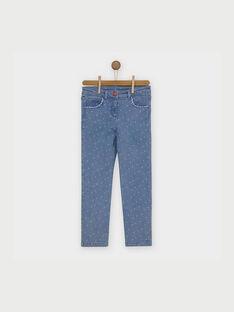 Jeans bleu jean RAFIOZETTE / 19E2PFC1JEA704