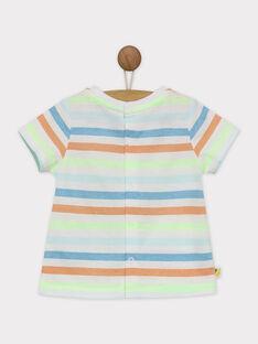 Tee shirt manches courtes vert RAWAREN / 19E1BGQ1TMC108