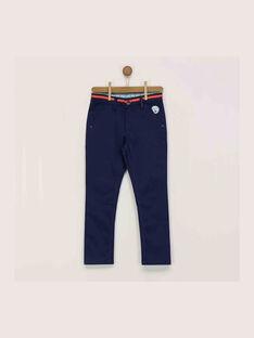 Pantalon bleu nuit RESOFAGE / 19E3PGD2PANC205