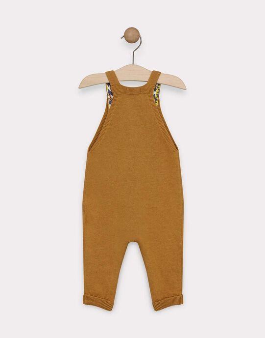 SALOPETTE LONGUE unie couleur camel  SAKAEL / 19H1BG61SAL804