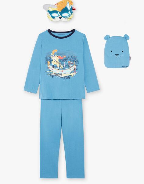 Pyjama Bleu ZIPIMAGE3 / 21E5PGF3PYT702