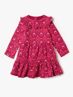 Robe imprimée rose  VLOSETTE / 20H2PFU1ROBD307