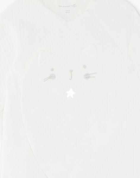Ensemble grenouillère et chaussettes bébé mixte VIYAN / 20H0CM11ENS001