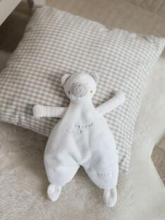 Peluche ourson écrue naissance mixte BOROMAN / 21H0AM41JOU001