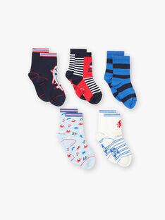 Lot de 5 paires chaussettes esprit bord de mer ZALOTAGE / 21E4PGK1LC5C218
