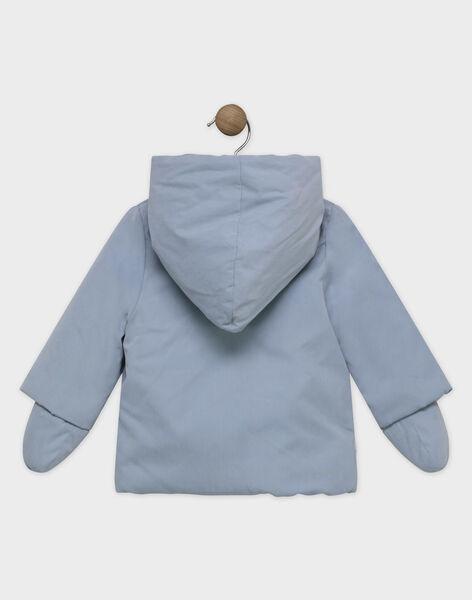 Parka bébé garçon bleu grisé  SIPAULIN / 19H1BGF1PAR205