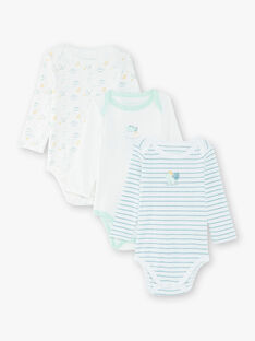 Lot de 3 bodies bébé garçon  VEREMI / 20H5BG91BDL000