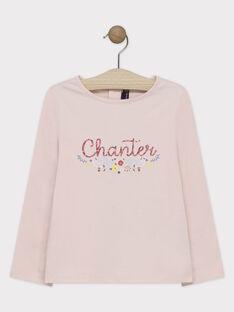 Tee Shirt Manches Longues Rose SAROBETTE 1 / 19H2PFD3TML030
