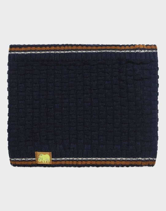 Snood Bleu marine SAPALAGE / 19H4PG61SNO070