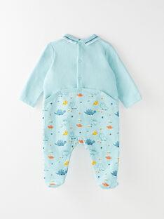 Dors bien en molleton bébé garçon VELUCA / 20H5BG24GRE202