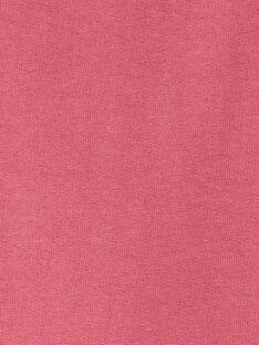 Sweat rose framboise avec animation  VLIBETTE / 20H2PFS1SWE308